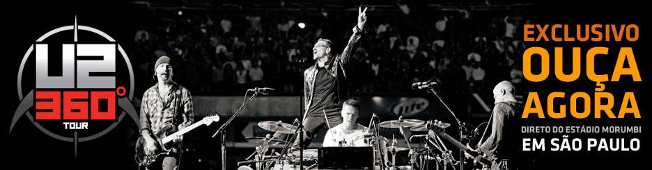 Sonora Live Terra transmite ao vivo em áudio o show do U2 em SP