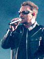 No 2º show, Bono e companheiros se apresentaram para um Morumbi lotado com aproximadamente 90 mil. Foto: Orlando Oliveira/AgNews