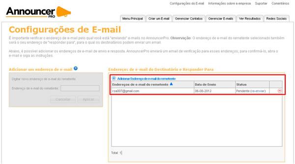 ce1e2aa0b Nova Hospedagem - Como cadastrar um email de remetente  - Dúvidas ...