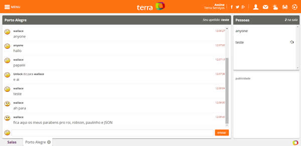 Bienvenido al Chat Terra Gratis en Español